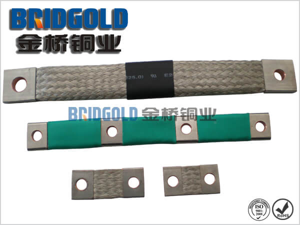 Copper Braided Connectors with Insulation