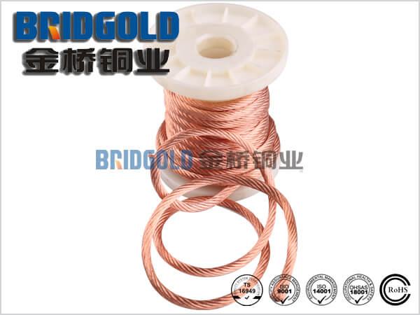Flexible Copper Stranded Wires 0.05mm (AWG44), 0.07mm(AWG41)