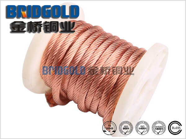 Flexible Copper Stranded Wires 0.10mm (AWG38 ), 0.12mm