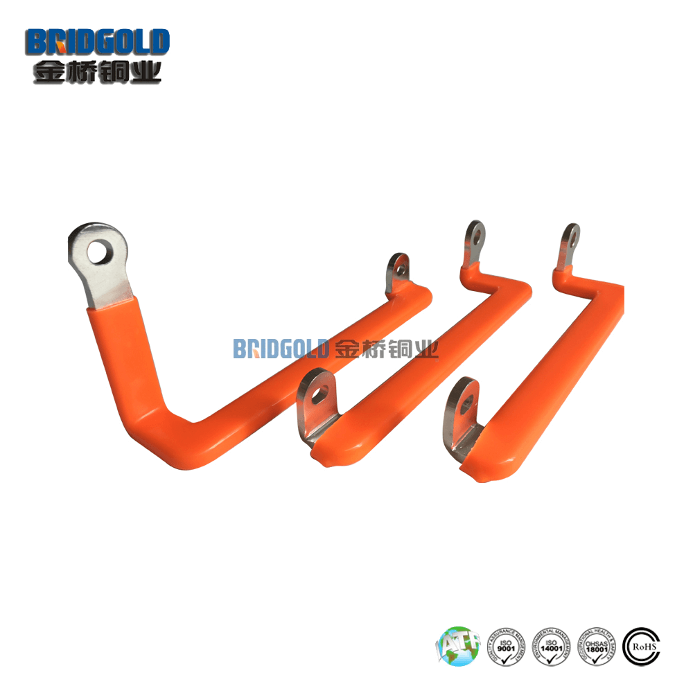 PVC Dip Coating Flexible Copper Connectors for Power Battery Pack