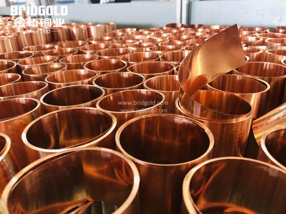 The Key Production Process of Bridgold Laminated Copper Foil Connectors 1